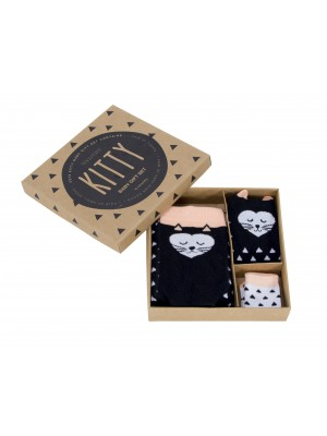 Boxed Baby Tights & Socks boxed gift set Kitty