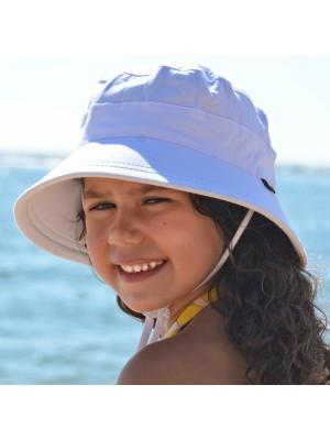 Beadhead Bucket Hat - Girl White