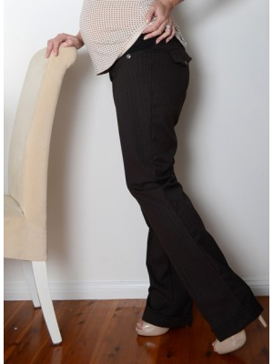 Cuffed Business Pants by Lilly B Australia