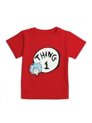 Dr. Seuss Short Sleeve Thing 1 T-shirt