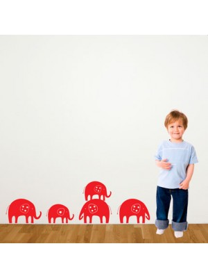 Vinyl Designs Elephant Trail