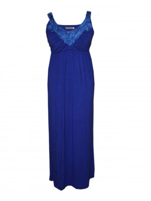 Goosebumps Clothing Giselle Maxi Dress - Royal Blue Front