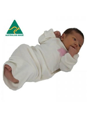 fourzero Organic Bamboo & Cotton Newborn Settling Nightie (Variety of Colours)