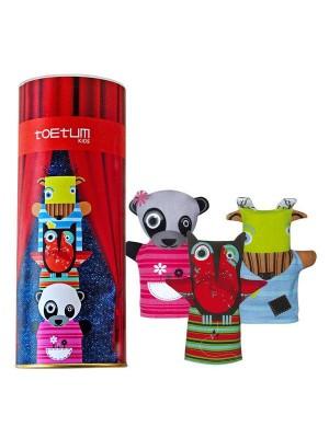 Toetum Kids Hand Puppets - Set of 3