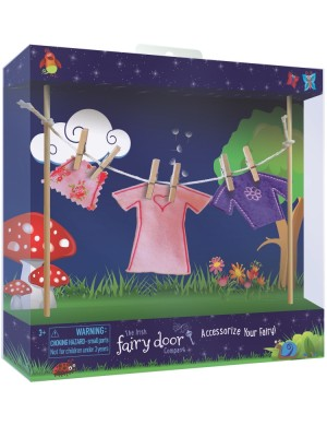 the Irish Fairy Door Company - Clothesline