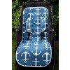 Harry High Pants Pram Liner & Strap Covers - Anchors Away