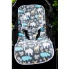 Harry High Pants Pram Liner & Strap Covers - Zoology