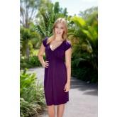 Goosebumps Clothing Rose Dress - Purple Full
