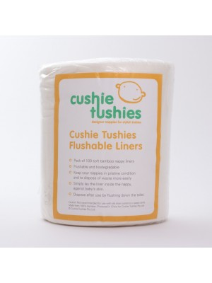 Cushie Tushies Flushable Liners