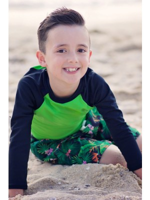 HeavenLee Swimwear - Long Sleeve Rash Top (Boys)