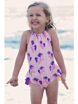 HeavenLee Swimwear - Growth Suit - Unicorn Front