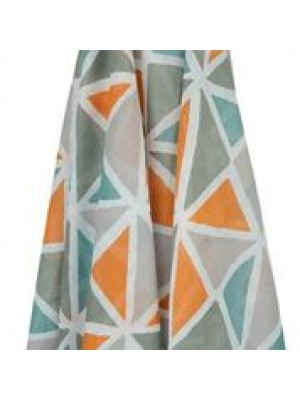 100% pure cotton Muslin Wrap Multi Colour Triangle