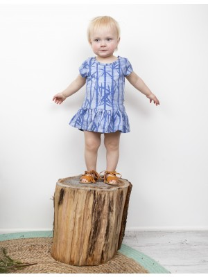 Moon Jelly - Short Sleeve Bamboo Dress baby