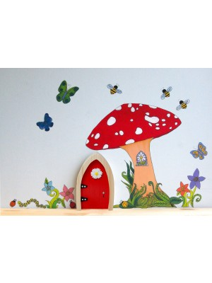 The Irish Fairy Door Company - Fairy Wall Art Set