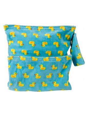 Cushie Tushies Nappy Bag - Fluffy Ducks