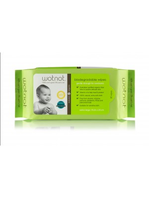 Wotnot Baby Biodegradable Baby Wipes - 80PK
