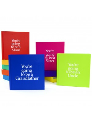 You're going to be a Grandmother, Brother or Sister Pregnancy Announcement Books
