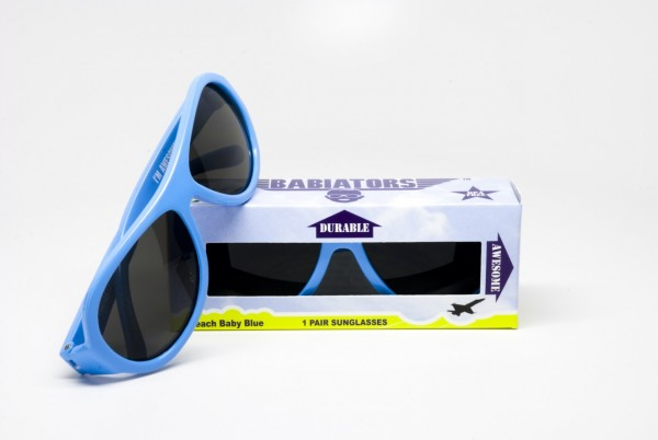 Beach Baby Blue original Babiators kids sunglasses