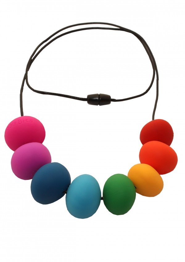 Abacus Rainbow Necklace