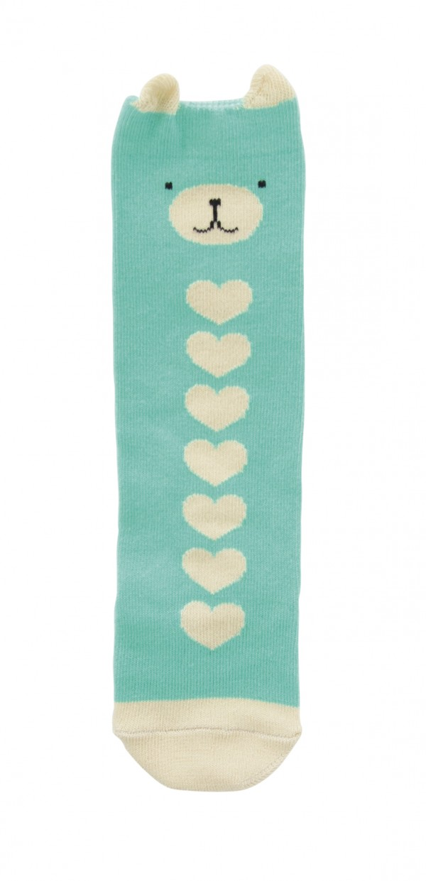 Boxed Baby Tights & Socks boxed gift set Bear Long Socks