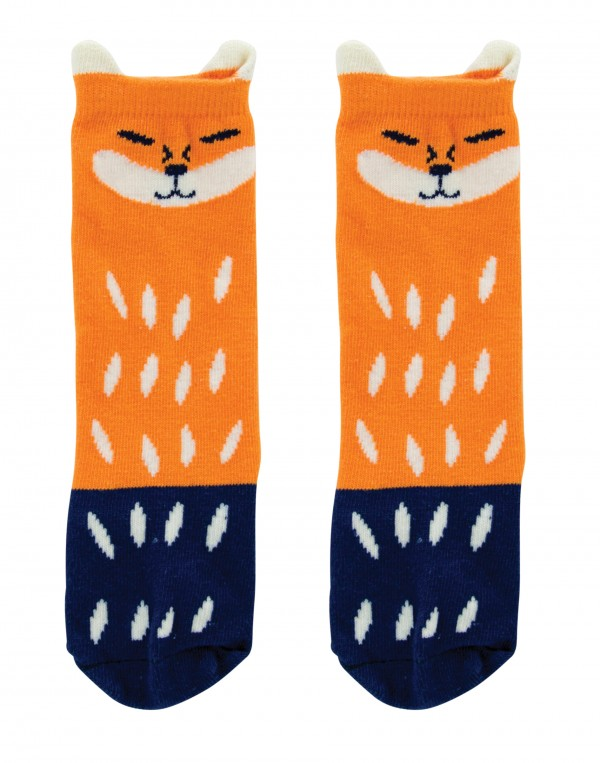 Boxed Baby Tights & Socks boxed gift set Fox long socks
