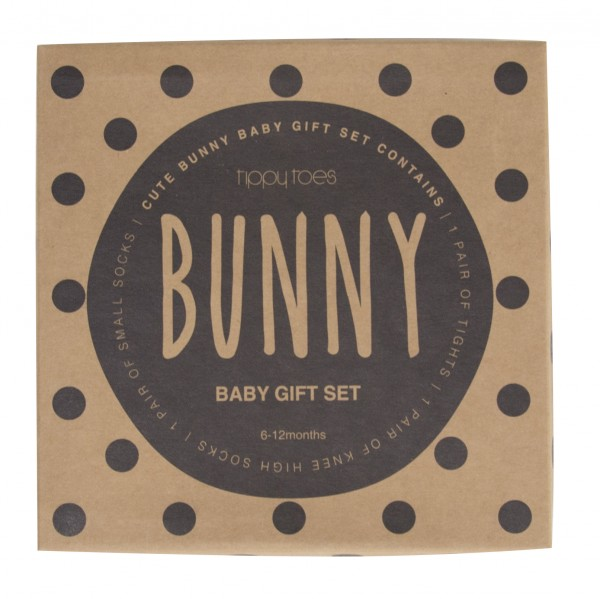 Boxed Baby Tights & Socks boxed gift set Bunny