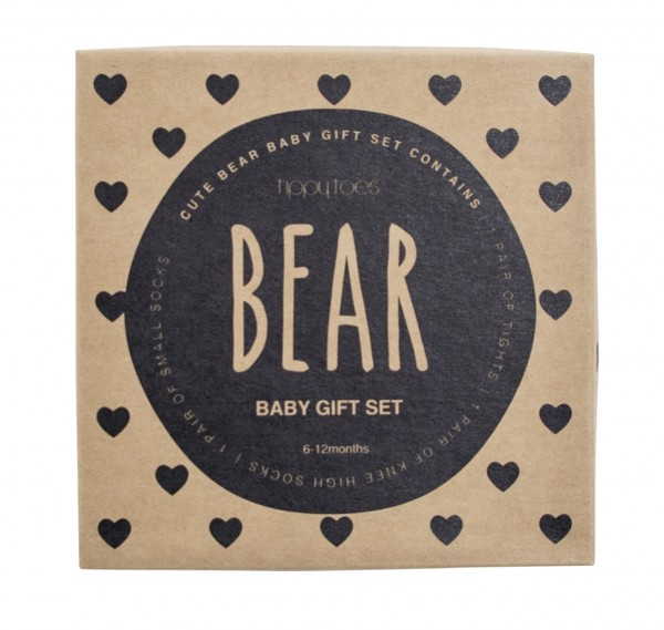 Boxed Baby Tights & Socks boxed gift set Bear