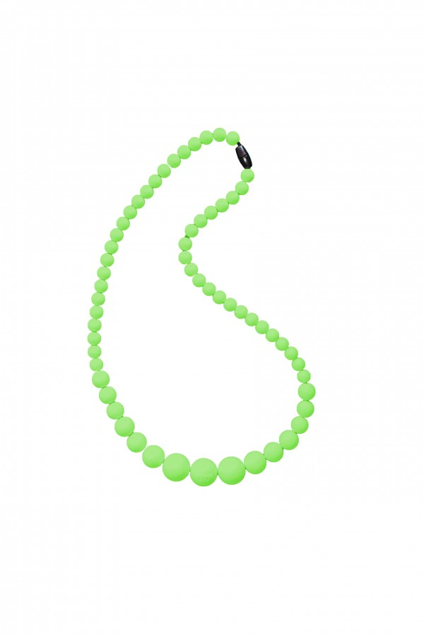 BB Necklace - Oxalis/lime Green