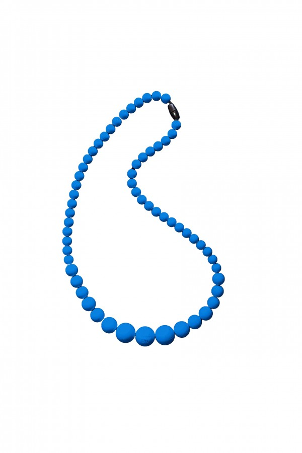 BB Necklace - Linear/Navy Blue