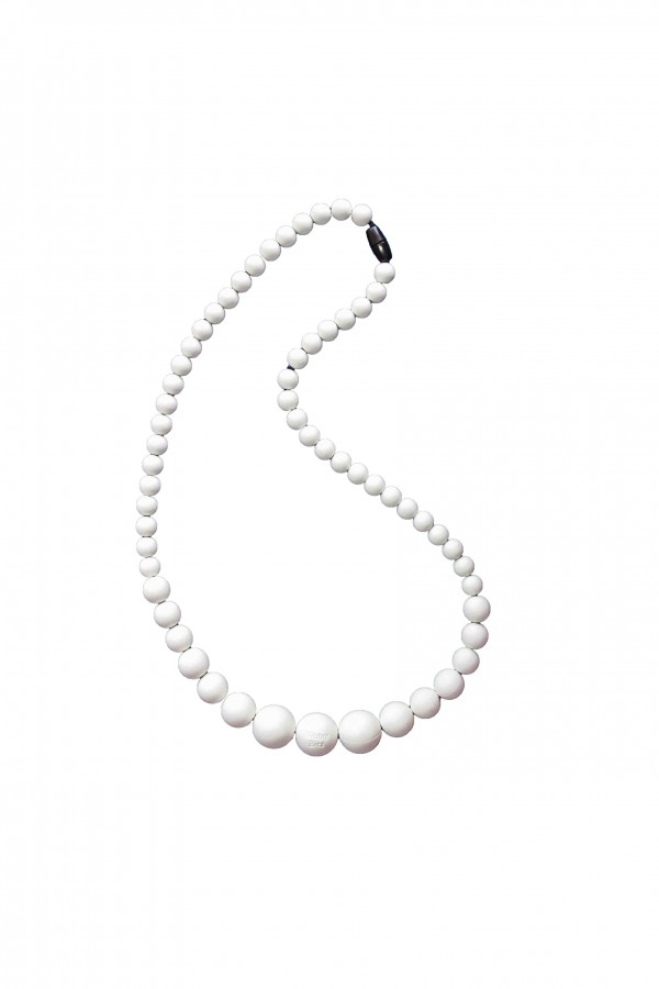 BB Necklace - Fair Bianca White