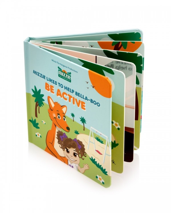 Australian Mizzie the Kangaroo Kids Books Be Active