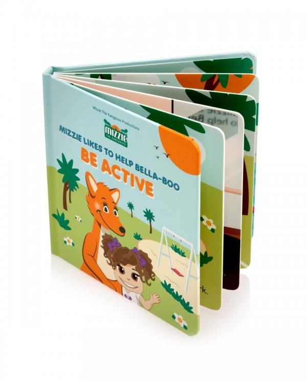 Australian Mizzie the Kangaroo Kids Books Be Active