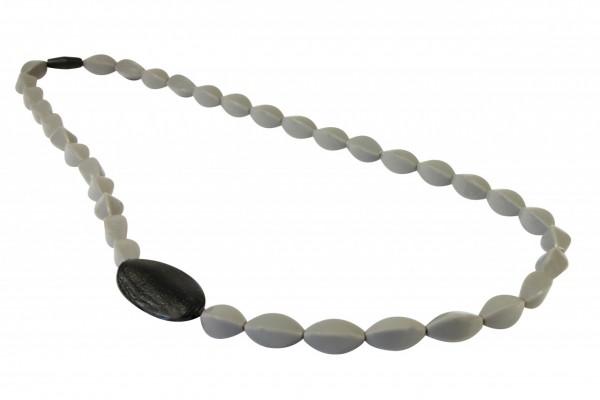 MummaBubba Boston Beads - Gray Black
