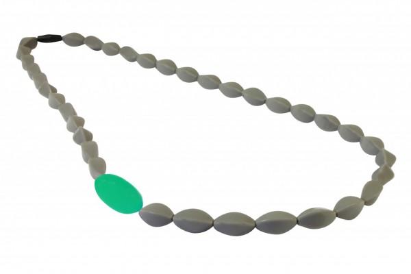 MummaBubba Boston Beads - Gray Green