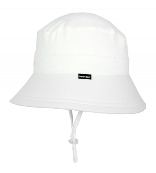 Beadhead Bucket Hat - White