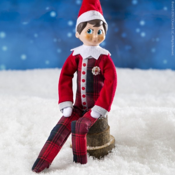 The Elf on the Shelf - Pajamas sitting