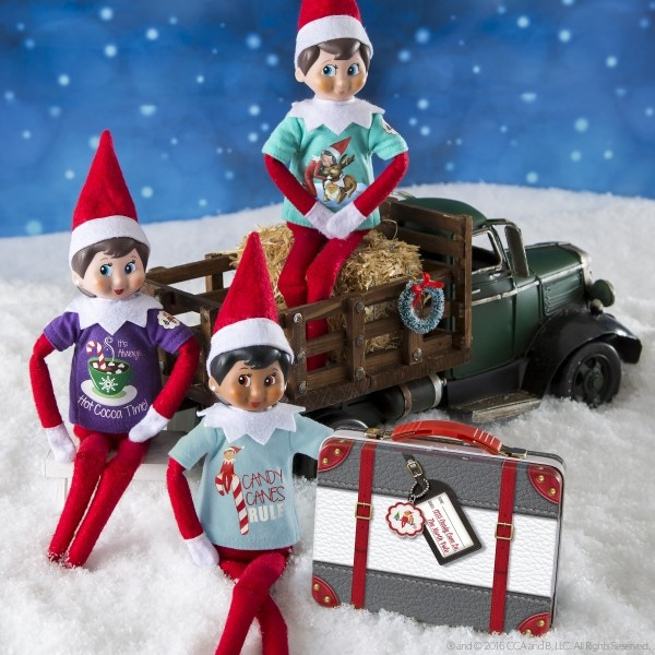 The Elf on the Shelf - Couture tees on truck