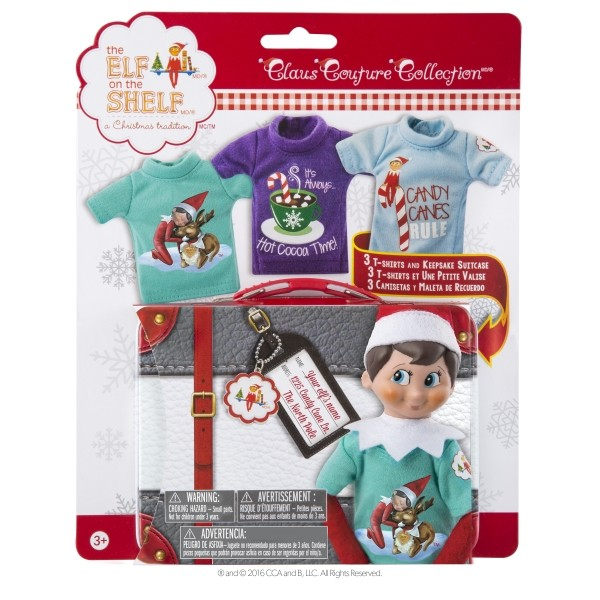 The Elf on the Shelf - Couture Tees packaged