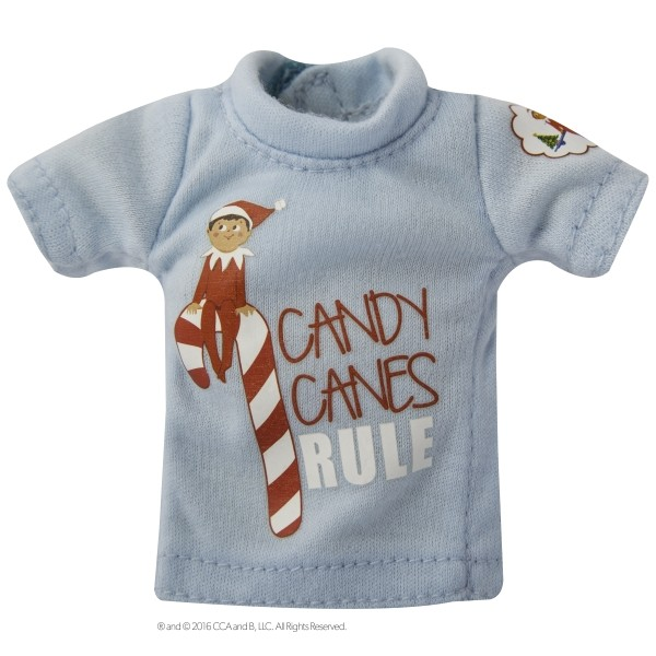 The Elf on the Shelf - Couture tee blue