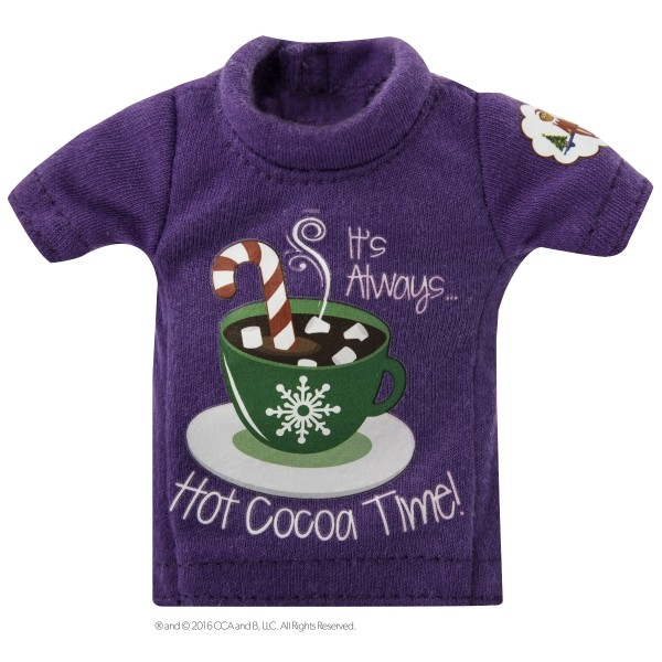 The Elf on the Shelf - Couture tee purple