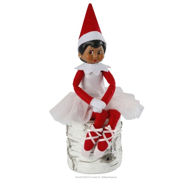 The Elf on the Shelf  - Couture Twinkle toes tutu sitting