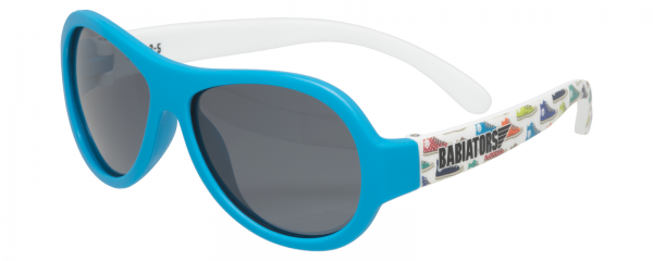 Feelin' Sneaky Polarised Babiators kids sunglasses in case