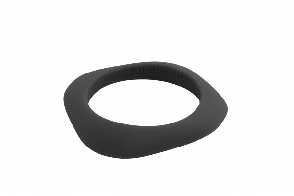 Flat Stackable Bangle - Black