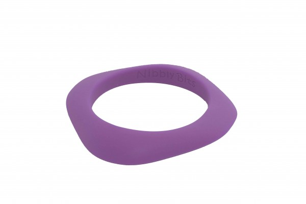 Flat Stackable Bangle - Champion Purple