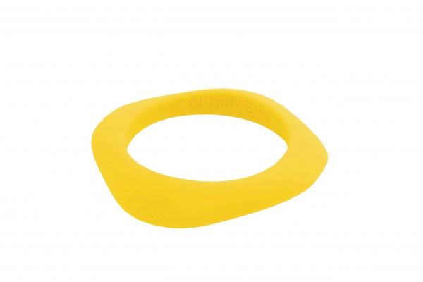 Flat Stackable Bangle - Sunburst Yellow