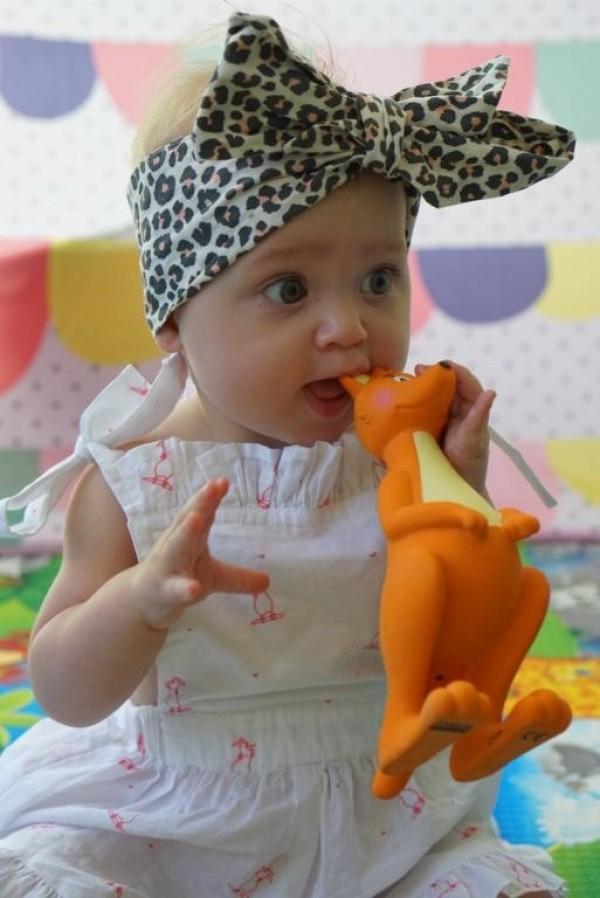 Mizzie Kangaroo Baby Teething Toy