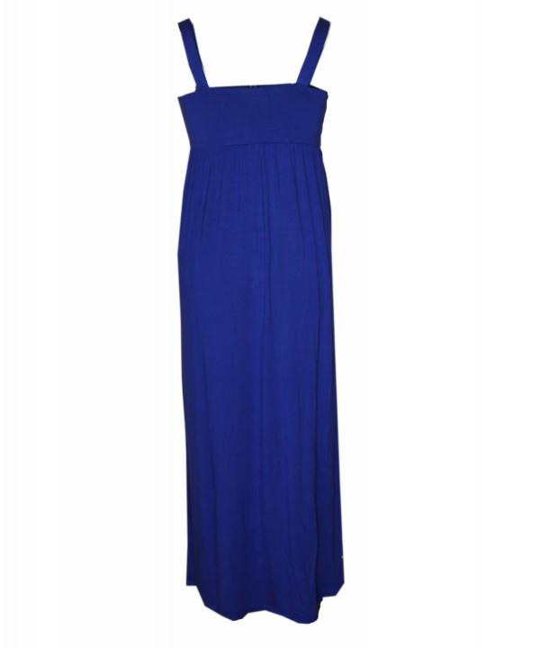 Goosebumps Clothing Giselle Maxi Dress - Royal Blue Back