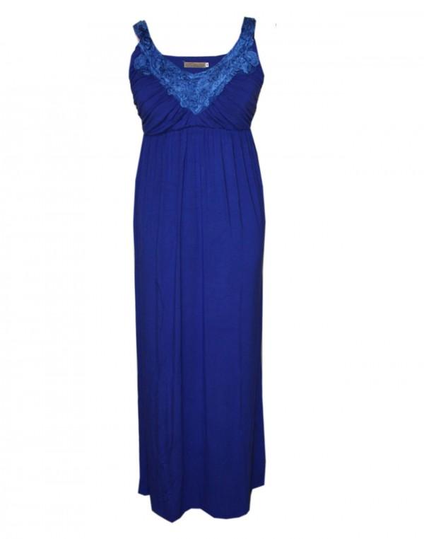 Goosebumps Clothing Giselle Maxi Dress - Royal Blue Front