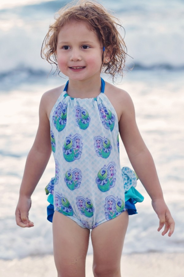 HeavenLee Swimwear - Growth Suit - Mermaid - Front