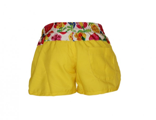 Heavenlee Swimwear - Summer Garden boadshort back